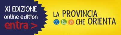 La Provincia che Orienta - XI edizione online edition - Entra